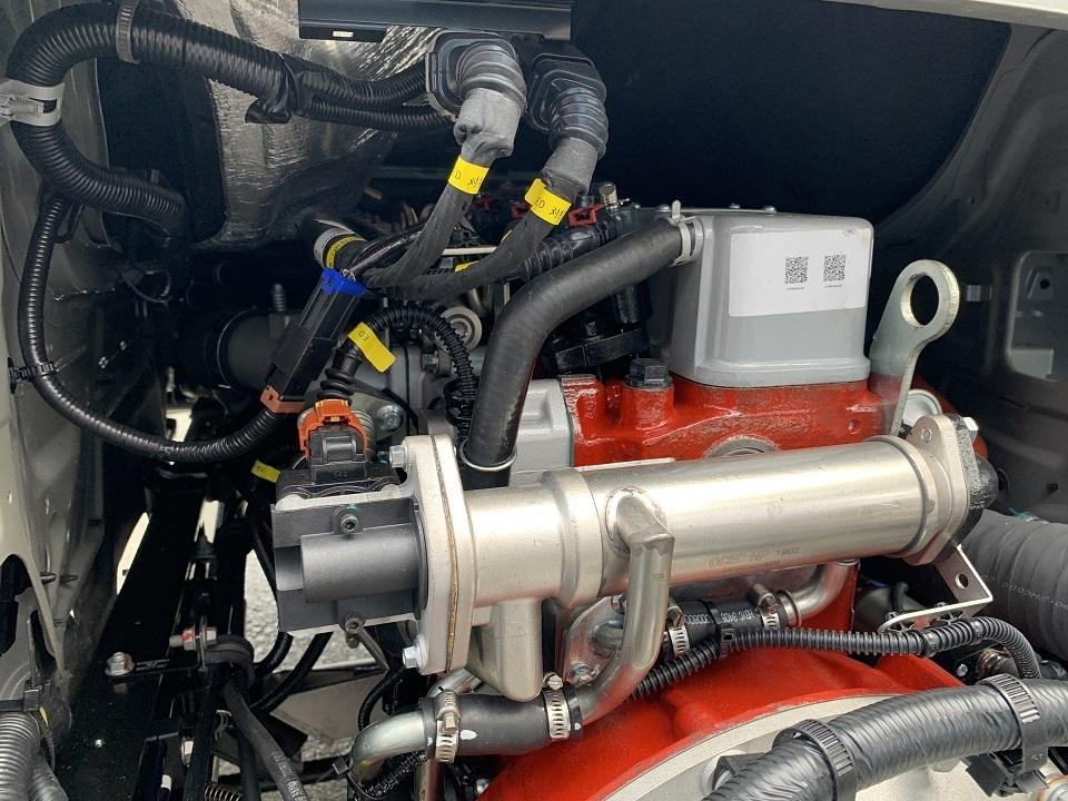 Các chi tiết của động cơ JAC X99