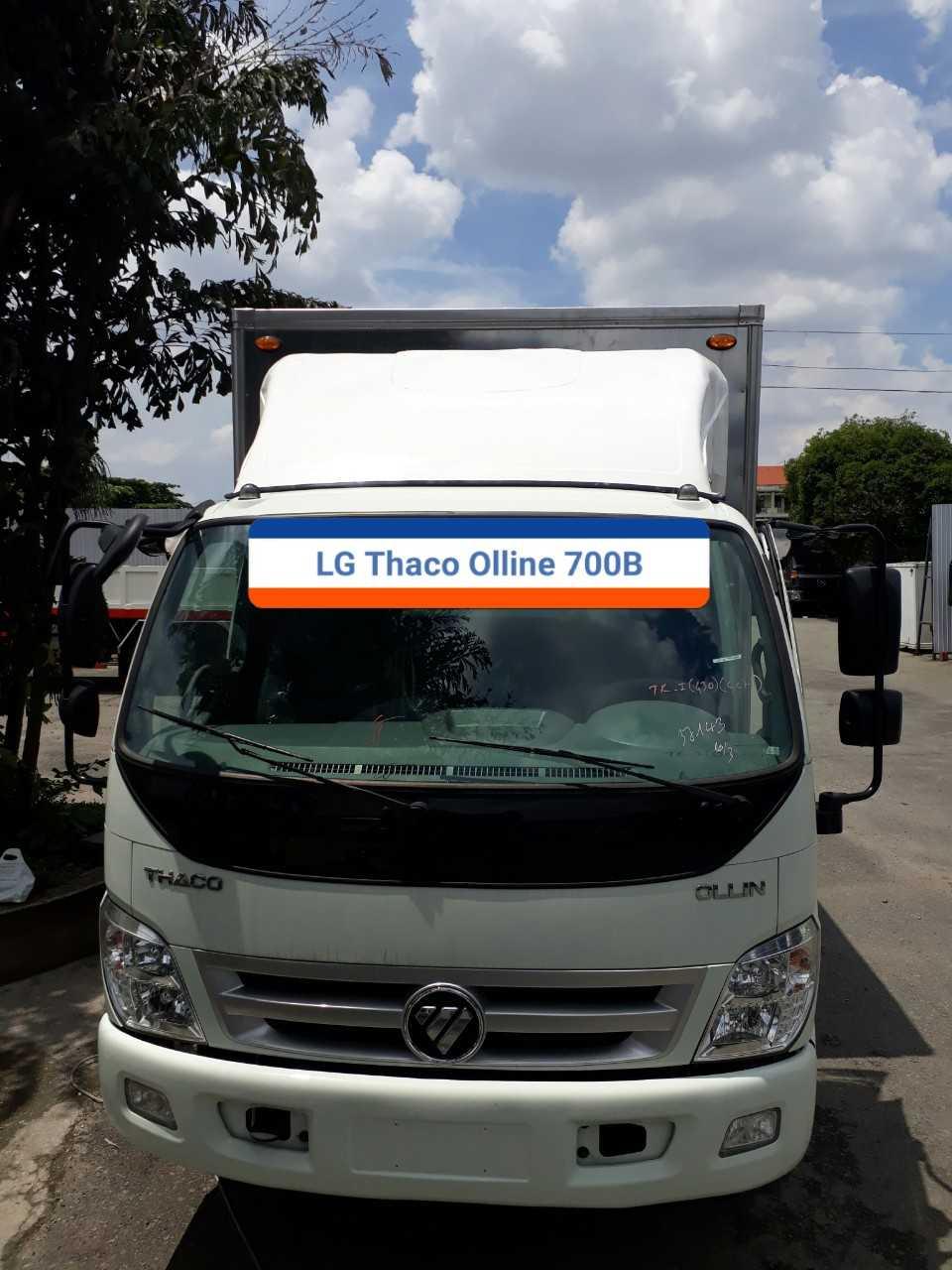 Mui lướt gió xe cho Thaco Ollin 700B