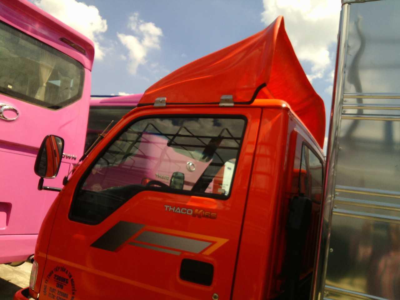 Mẫu thiết kế cho xe tải Kia K165