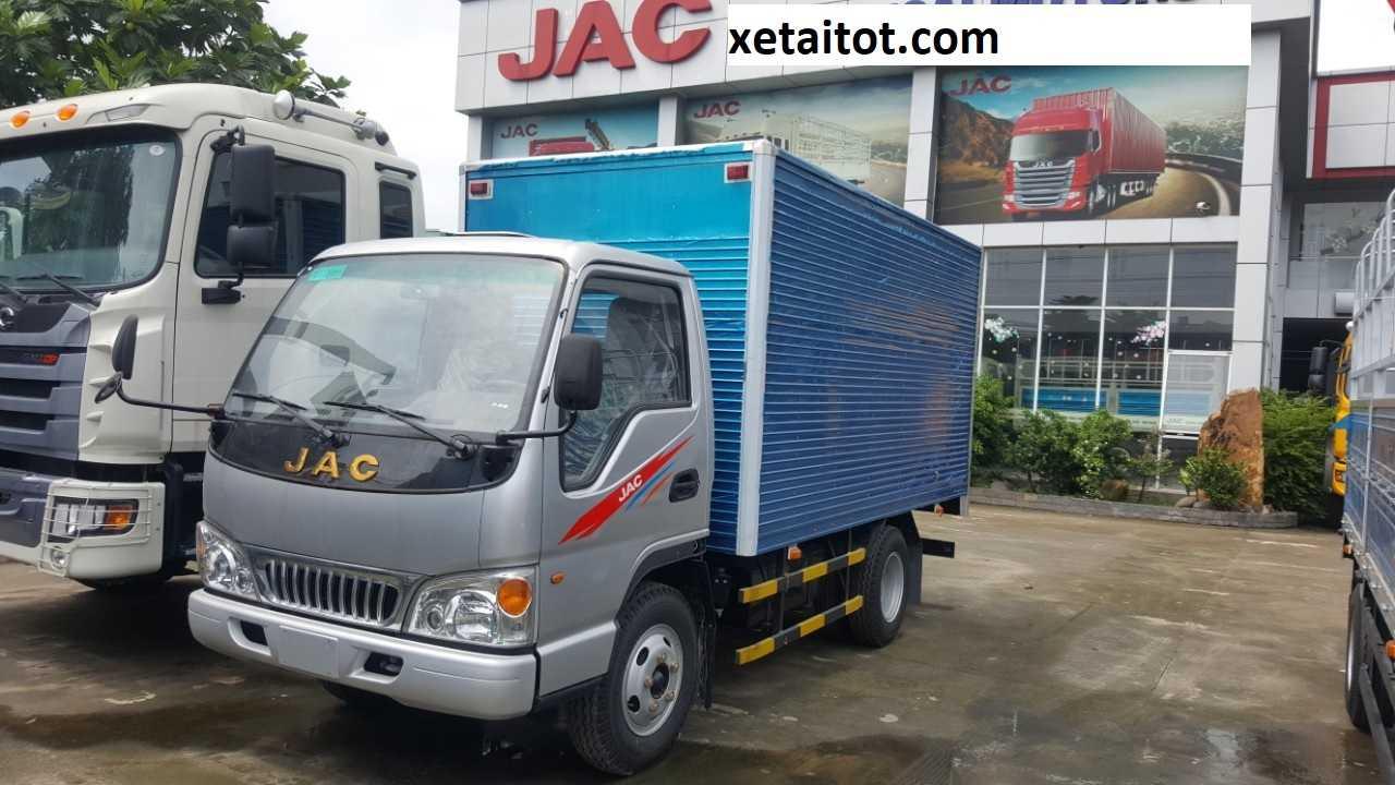 Xe tải JAC thùng kín 2,4 tấn