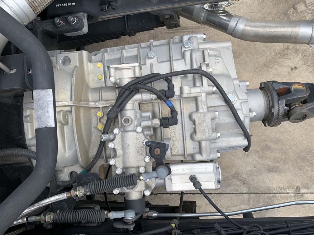Hộp số của xe JAC N200 1.9 tấn