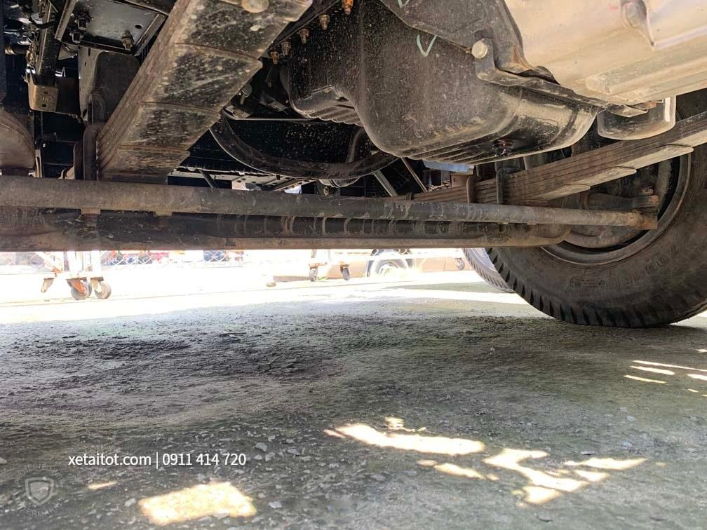 Khung gầm xe ô tô tải cũ