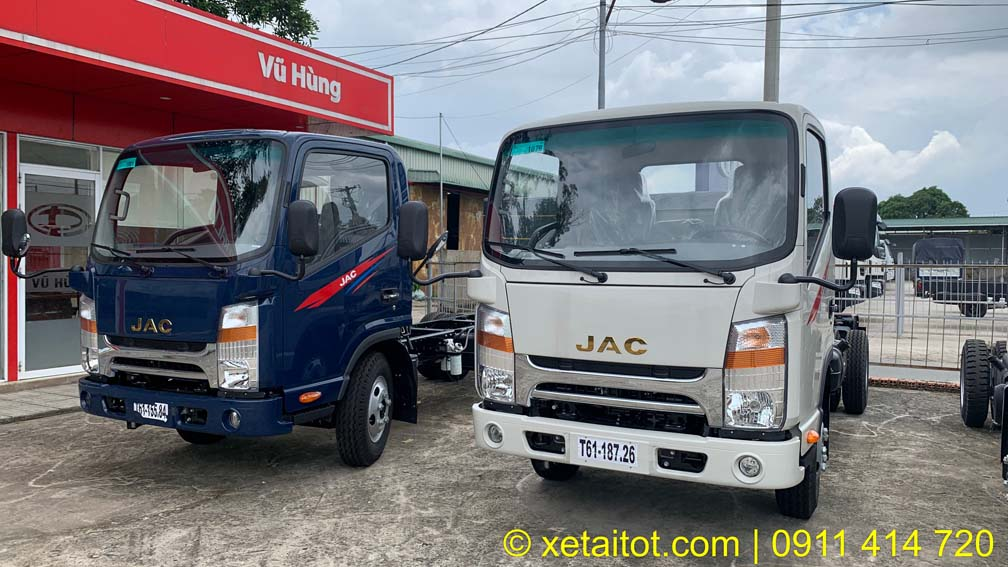 Xe tải JAC 1 tấn 9