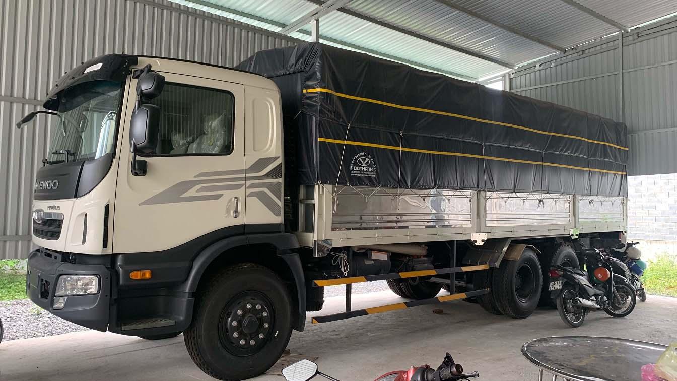 Xe tải Daewoo 15 tấn HU6AA
