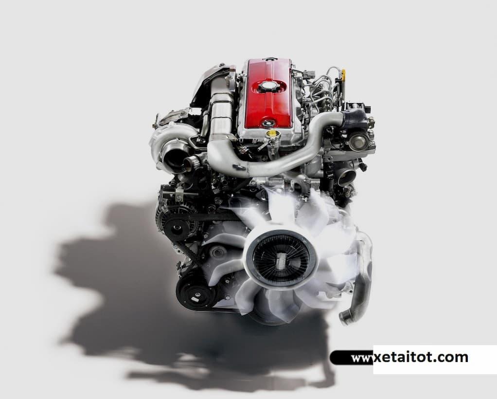 Động cơ 4.0 lít của xe