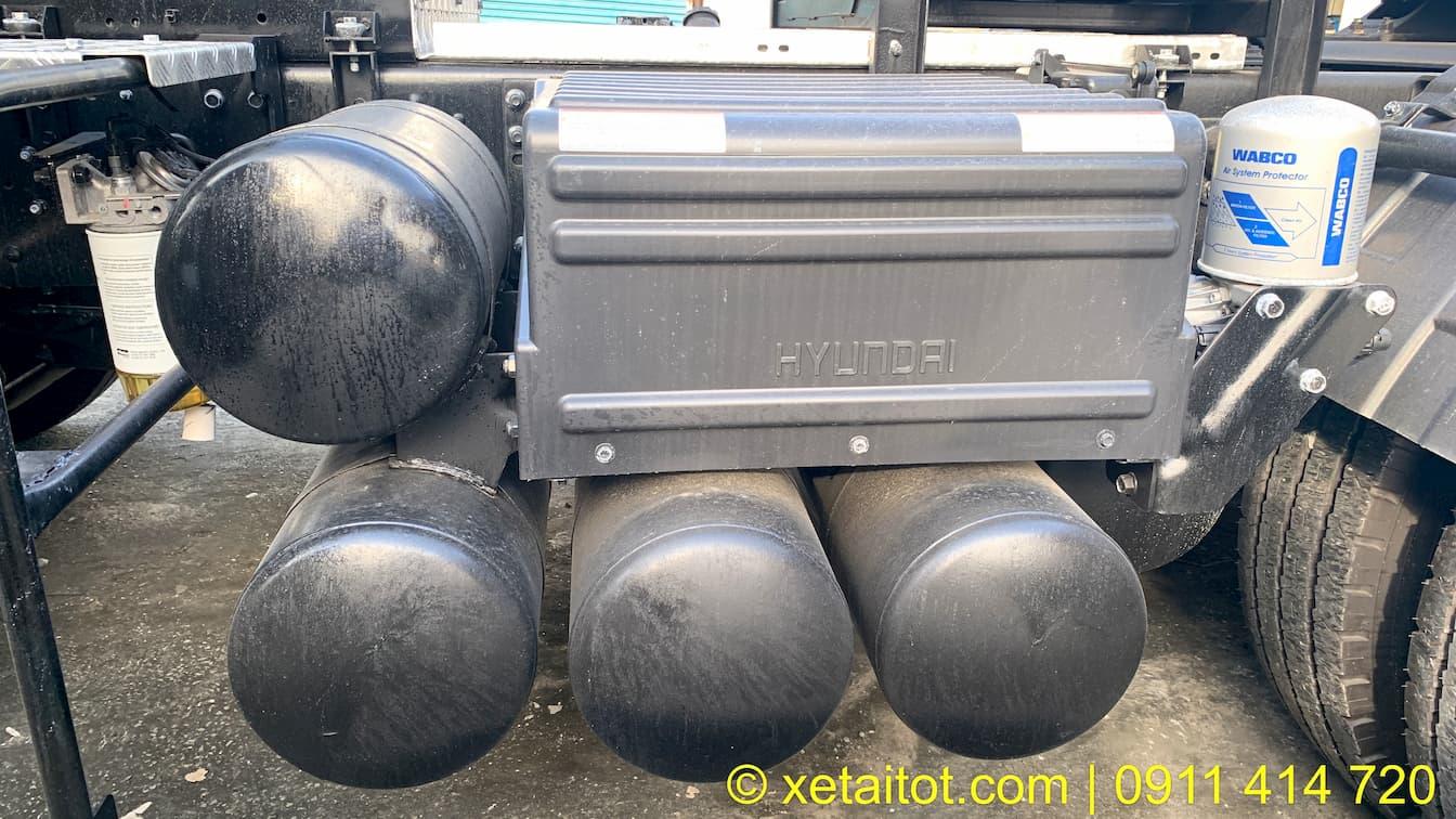 Hệ thống phanh của đầu kéo HD1000