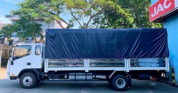 Ngoại hình xe tải JAC N650 Plus