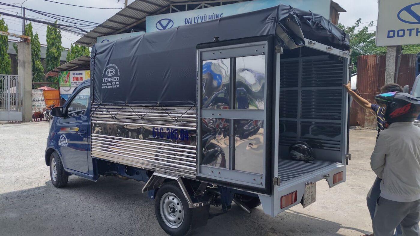 Xe tải nhỏ, nhẹ Tera 100 thùng bạt 2.8 mét