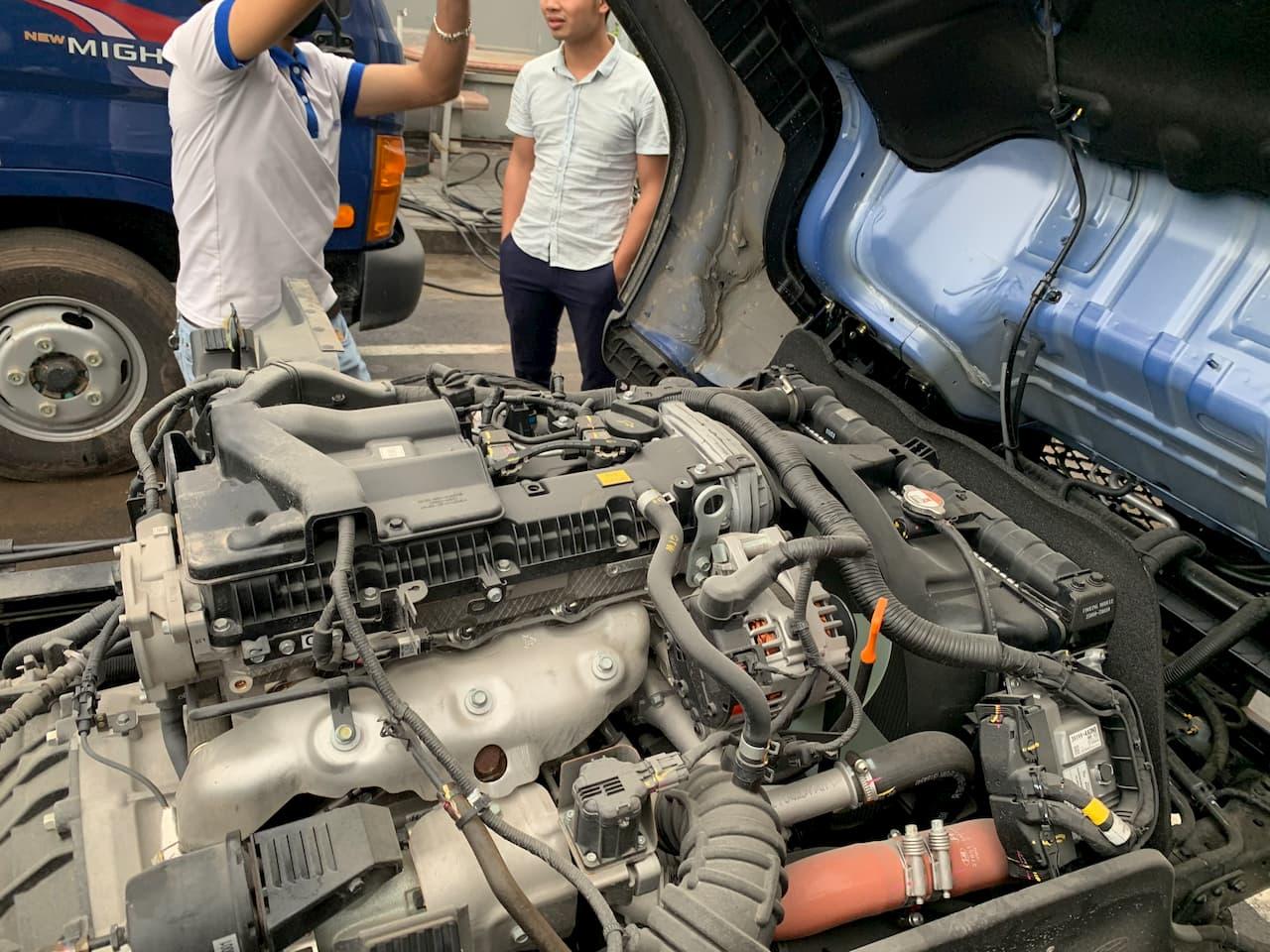 Động cơ Hyundai EX8 D4CC
