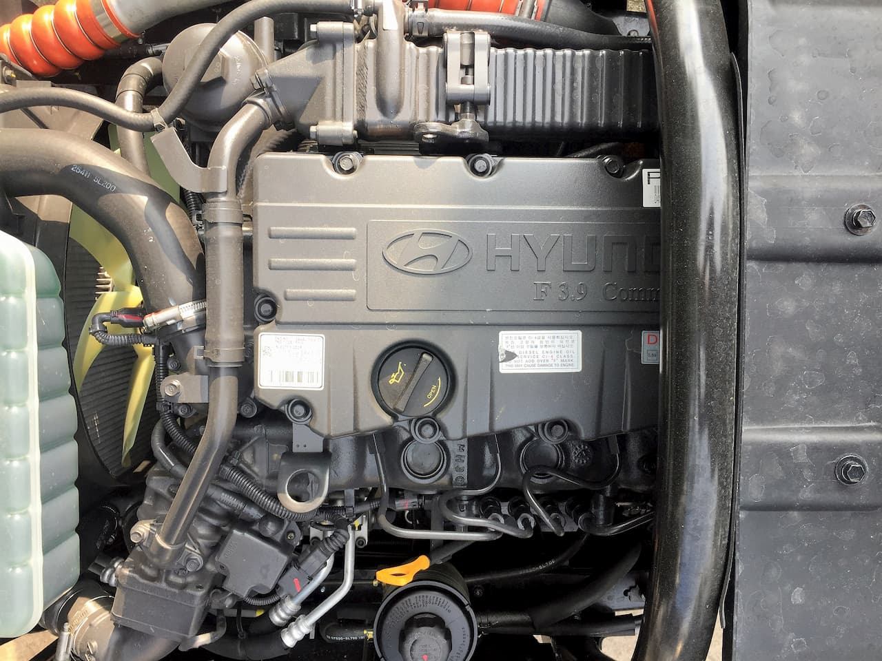 Ảnh động cơ Hyundai D4GA