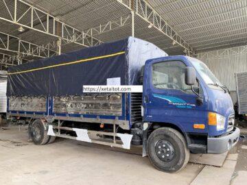 Hyundai 110SL mới thùng dài lên đến 5.7 mét