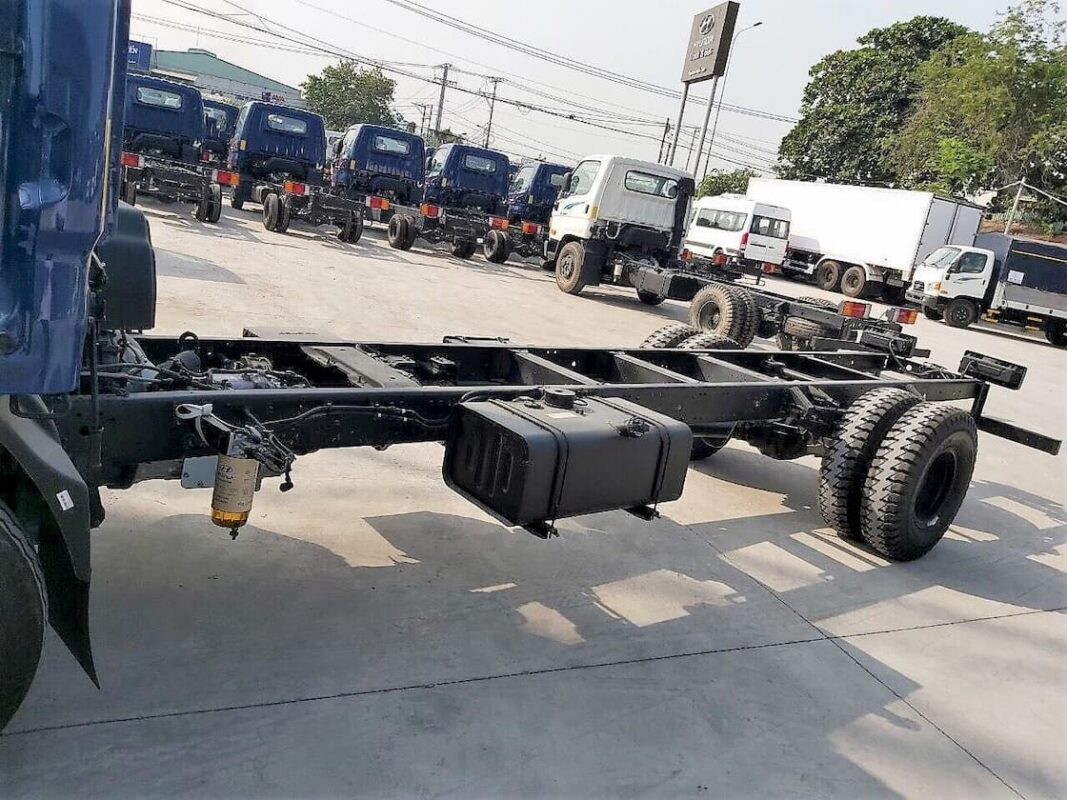 Kết cấu xe tải Hyundai 110SL 7 tấn