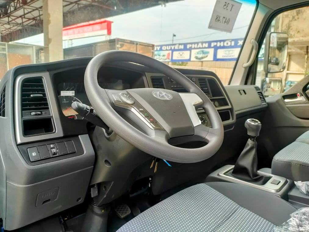 Nội thất Hyundai EX8 GT 7 tấn