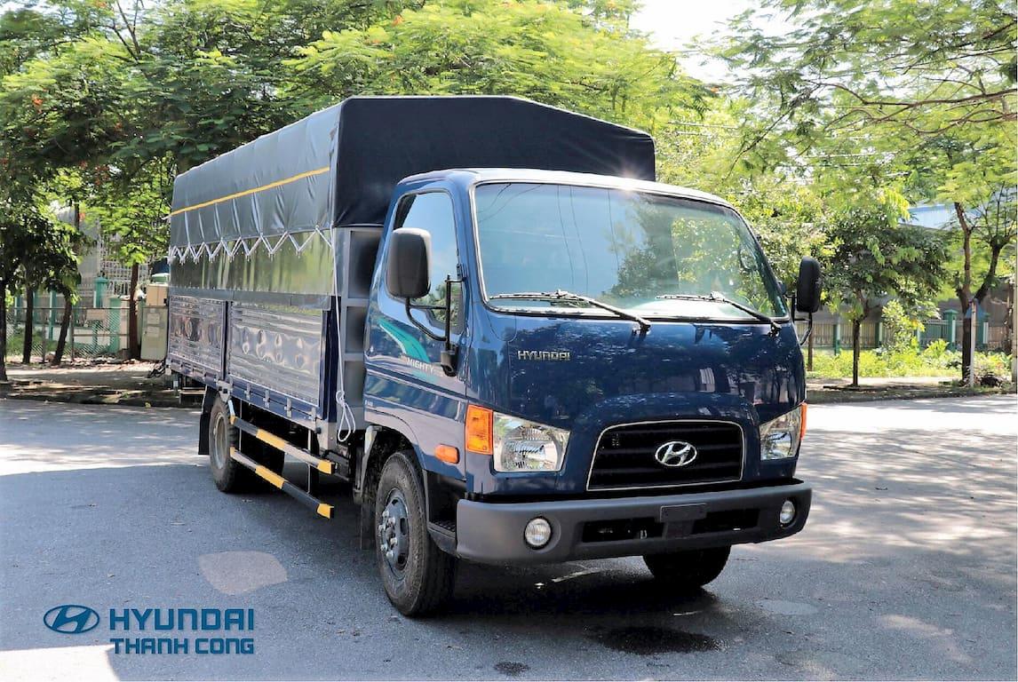 Thiết kế đẹp mắt và quen thuộc của Hyundai 110SL