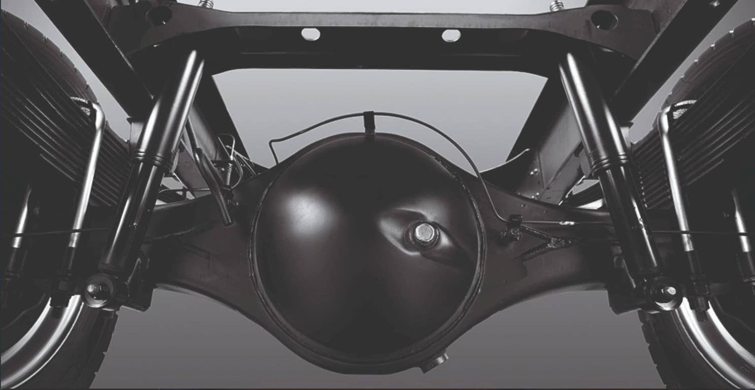 Khung xe cùng hệ thống treo sau khoa học