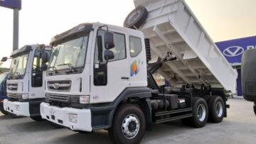 Xe ben Daewoo 15 tấn nhập khẩu mới