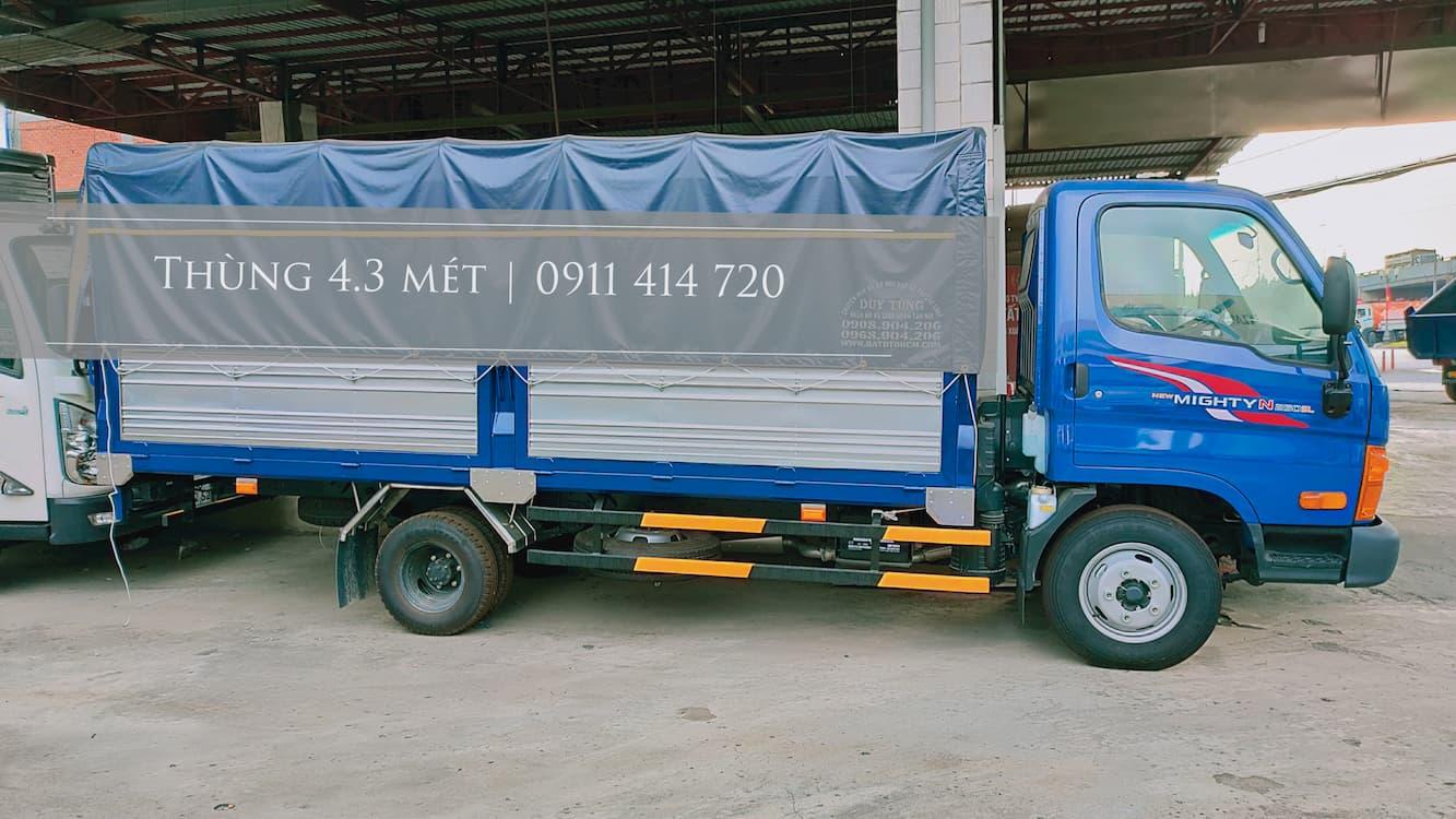 Giá xe tải Hyundai 2.5 tấn N250SL tốt nhất