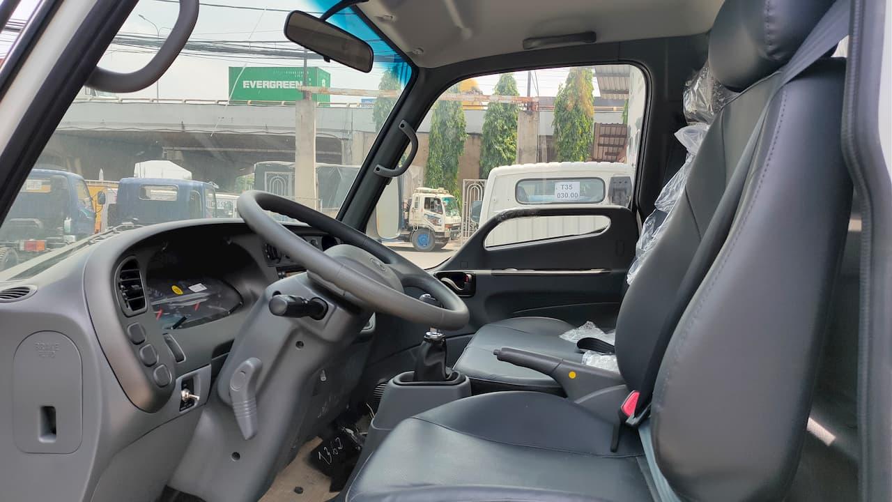 không gian nội thất xe tải 2.5 tấn Hyundai tốt nhất tầm giá