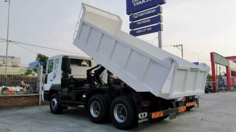 Xe ben Daewoo 15 tấn