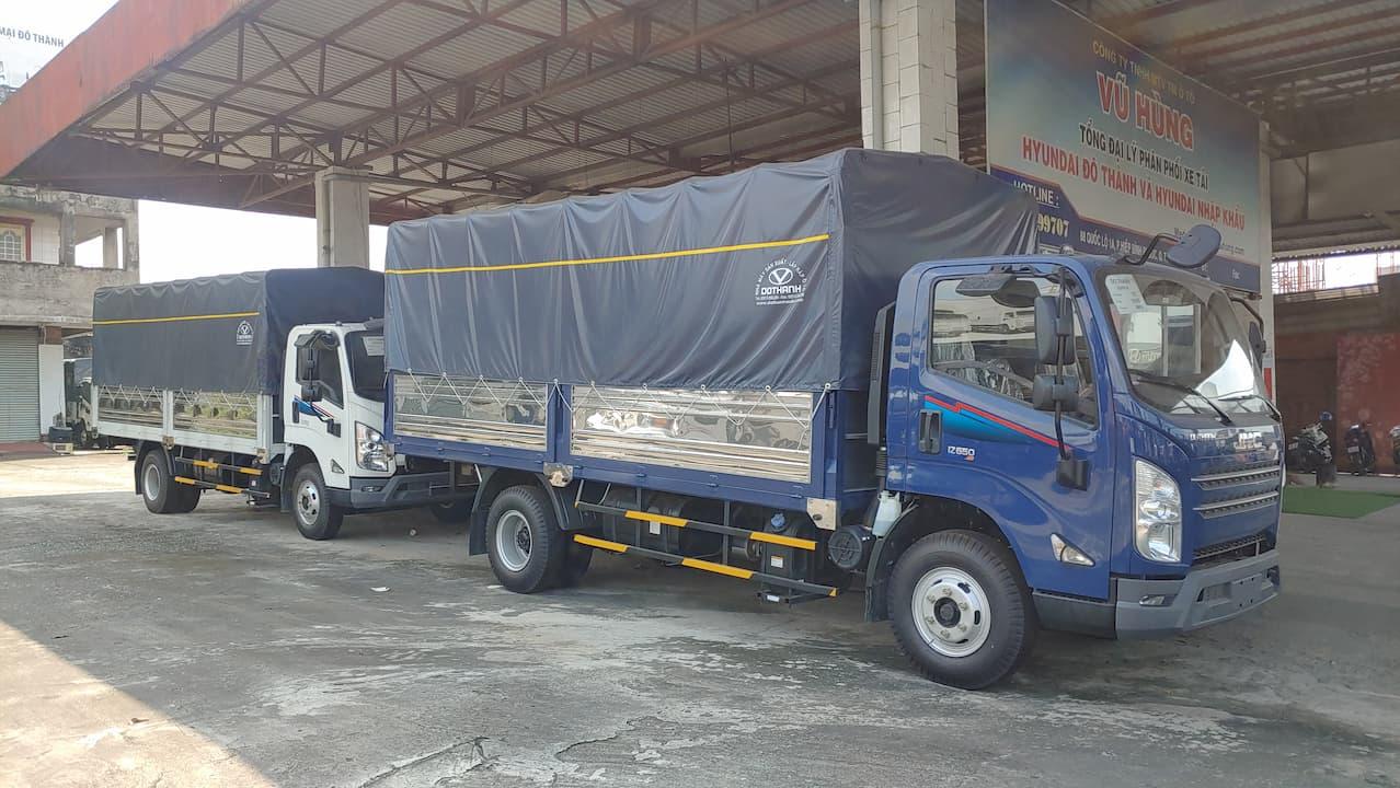 Đô Thành IZ650 SE 6.5 tấn thùng bạt