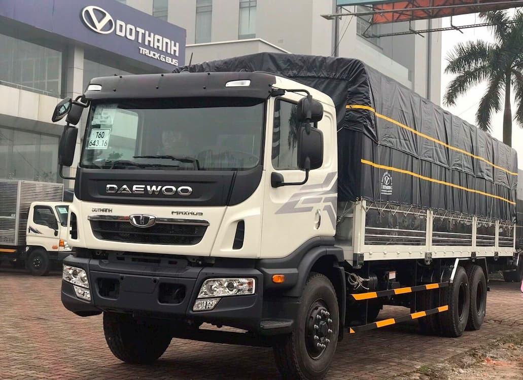 Xe tải Daewoo HU6AA 15 tấn thùng dài 7.6 mét