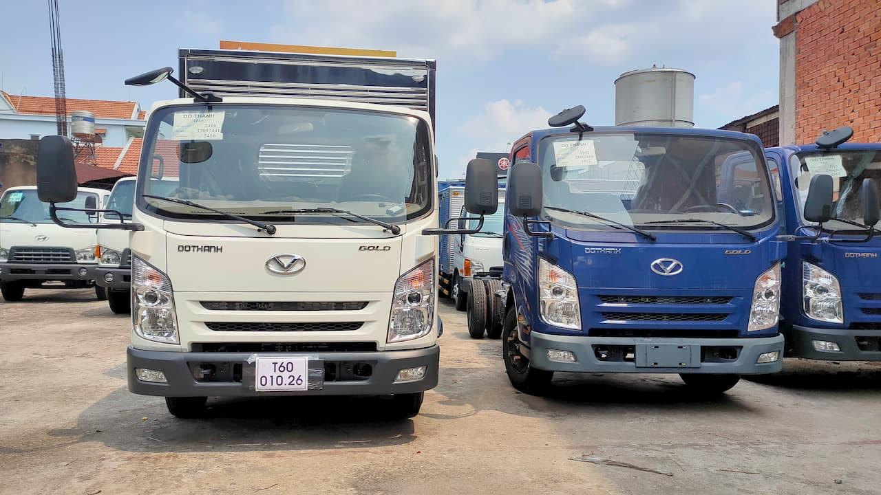 Giá xe tải Đô Thành thùng bạt