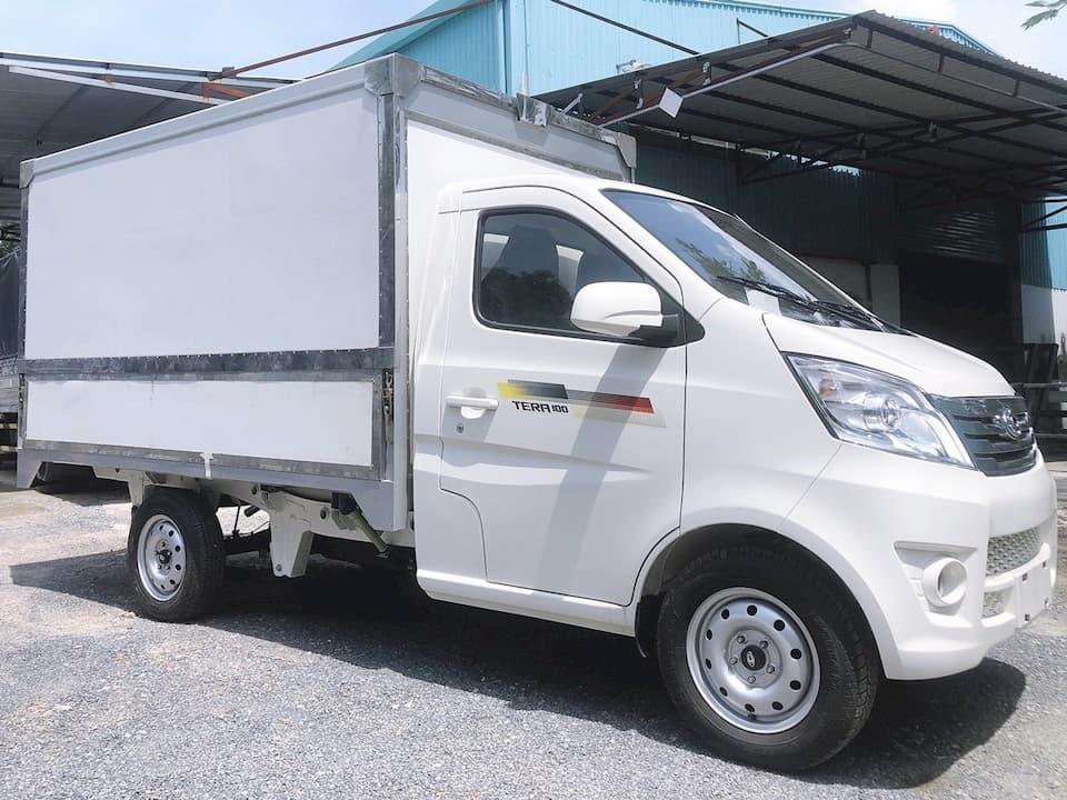 Ngoại thất xe tải 1 tấn Tera 100