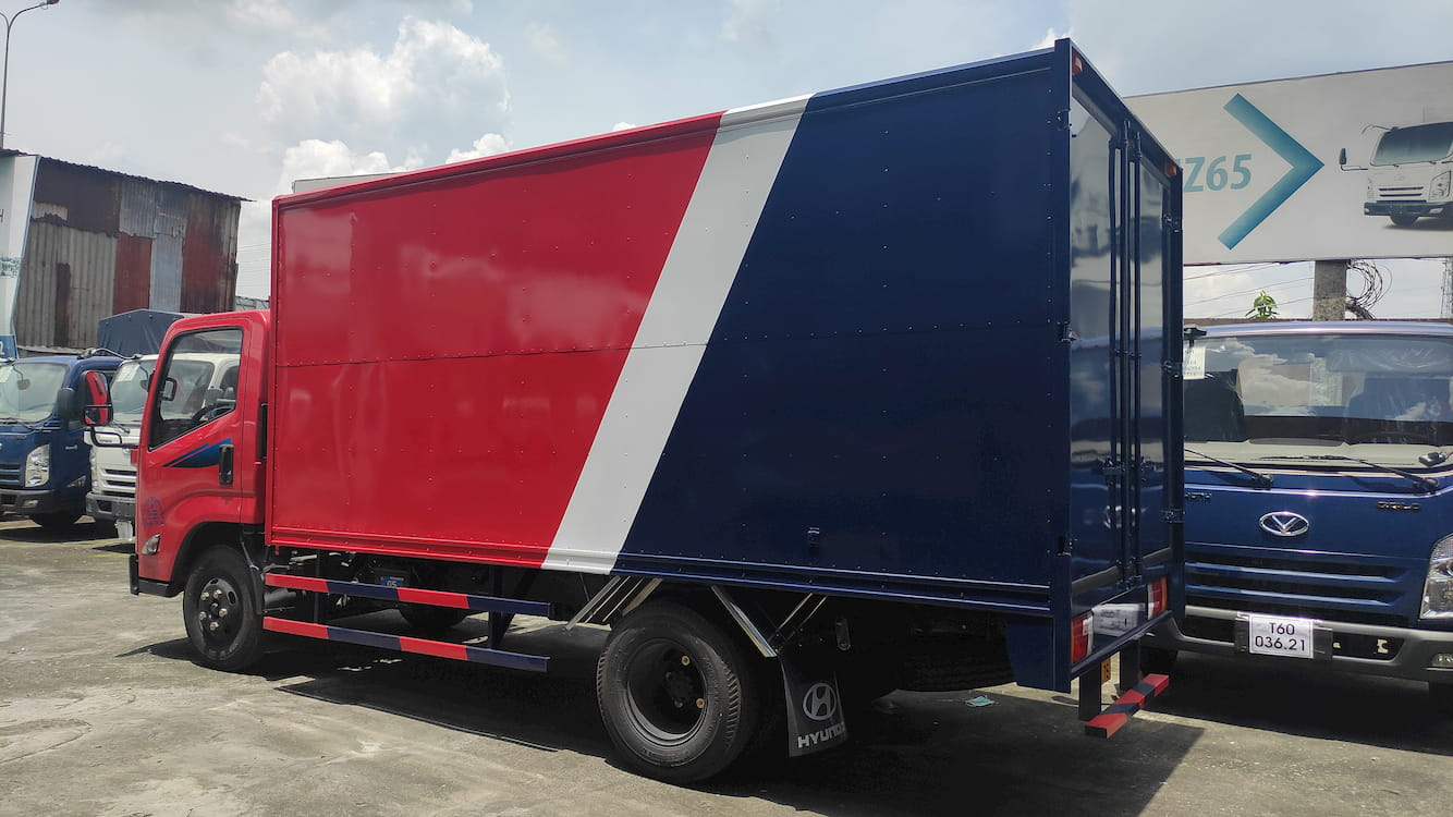 Xe tải Đô Thành IZ65 2.5 tấn