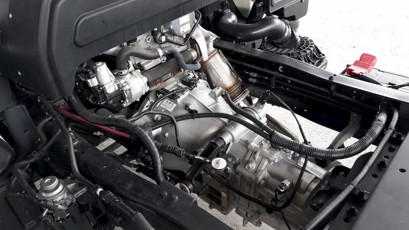 động cơ và hộp số xe tải Hyundai N250sl