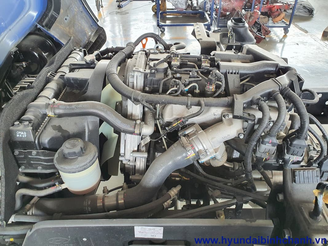 Động cơ Hyundai EX8 GTL