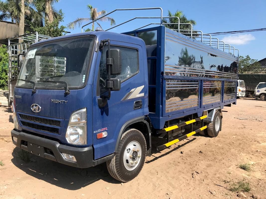 Hyundai Mighty EX8 GTL thùng mui bạt