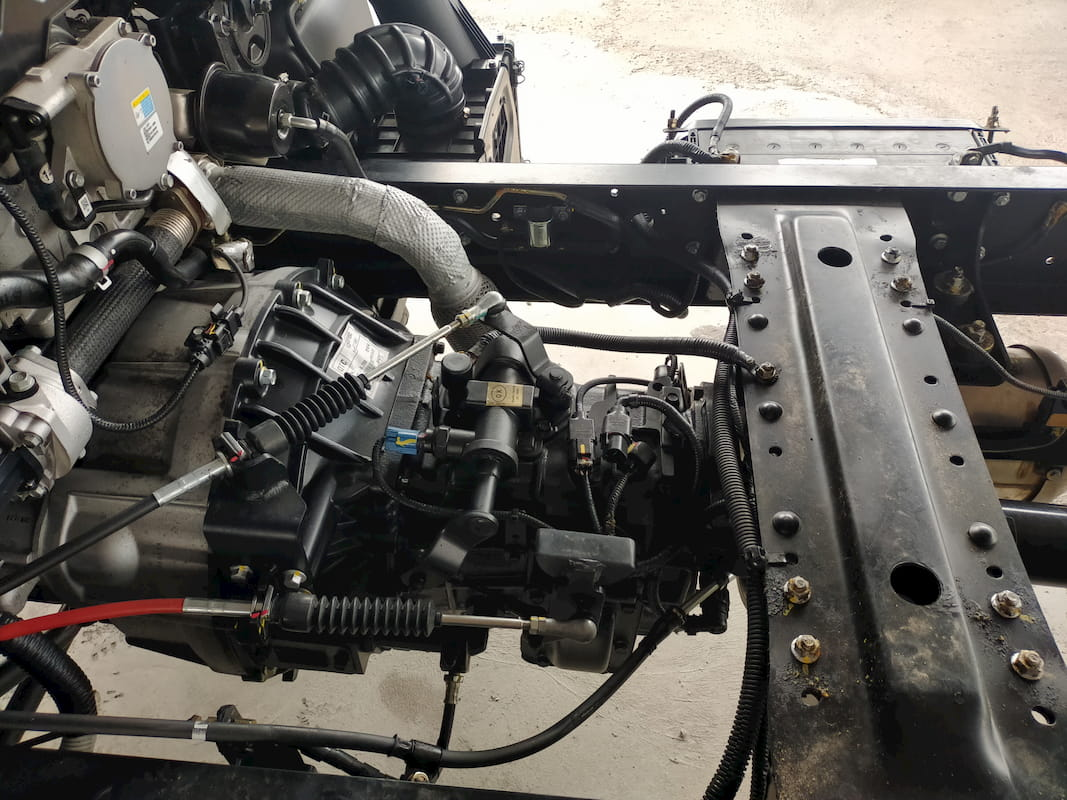 Khung chassis của Hyundai EX8 GTL