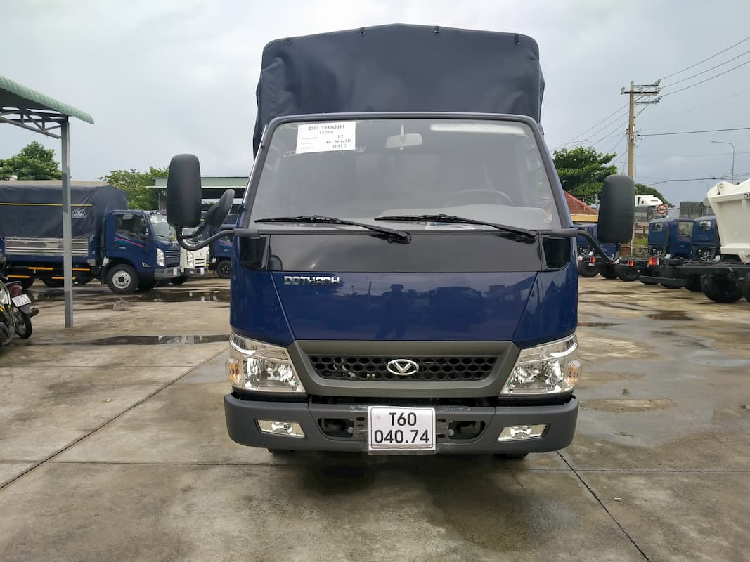 Thiết kế của xe tải Đô Thành IZ200