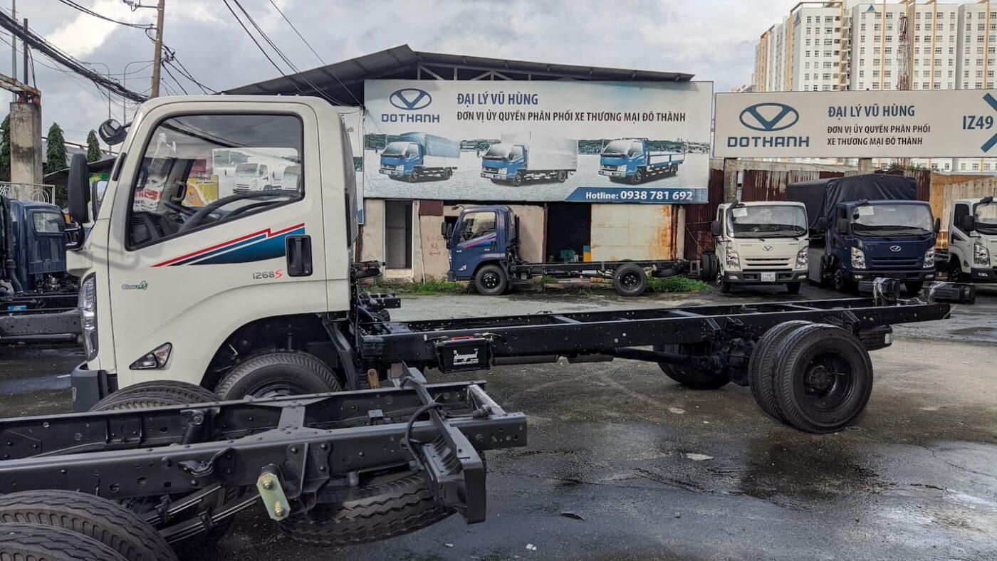 Xe tải Đô Thành IZ68S 3.5 tấn