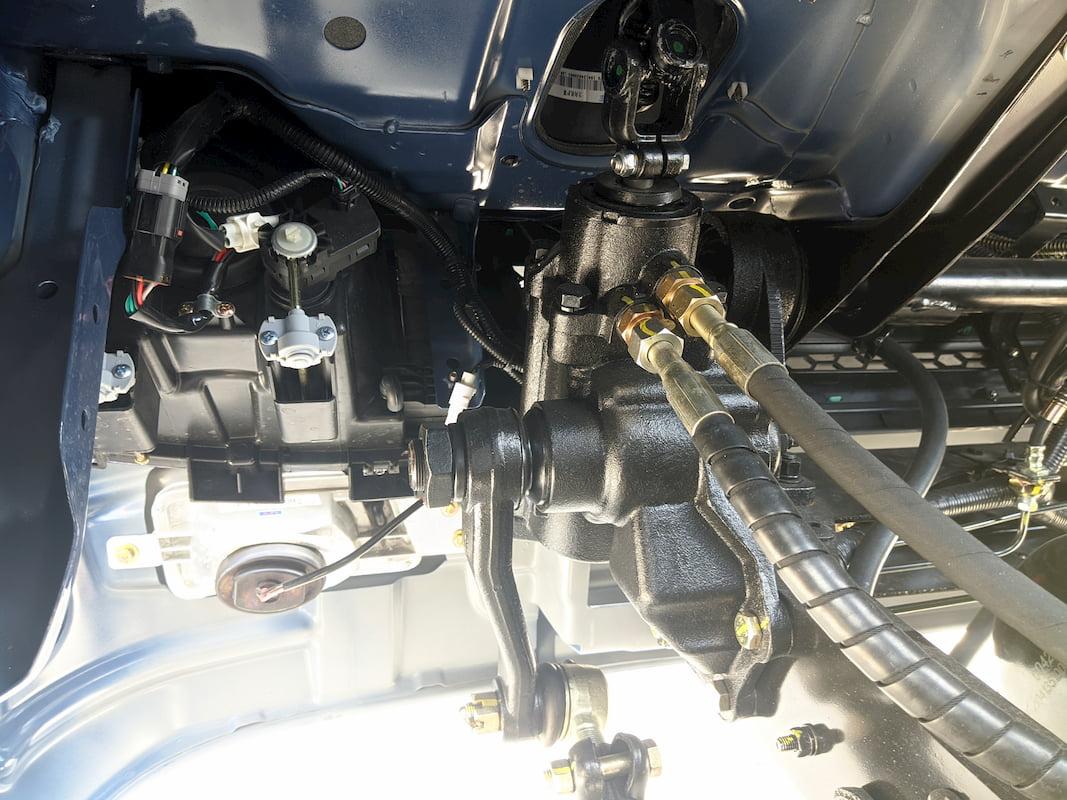 Hệ thống bơm trợ lực cho bánh lái