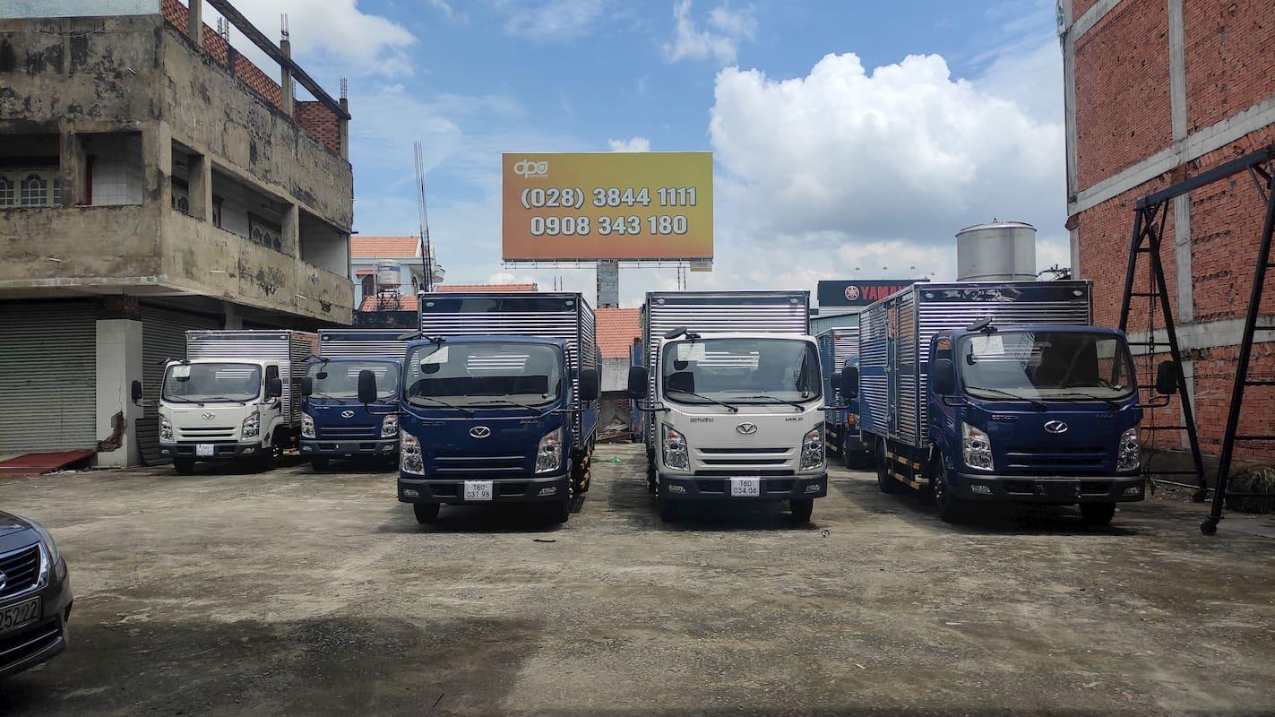 Giá xe tải Đô Thành mới nhất