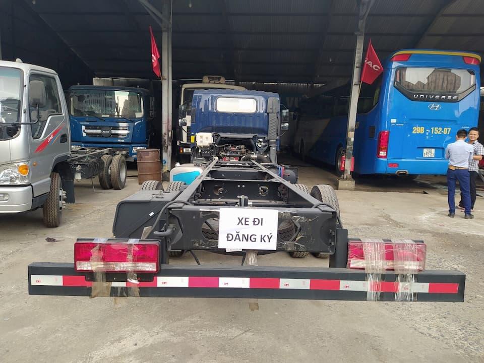 Khung gầm xe tải JAC N900