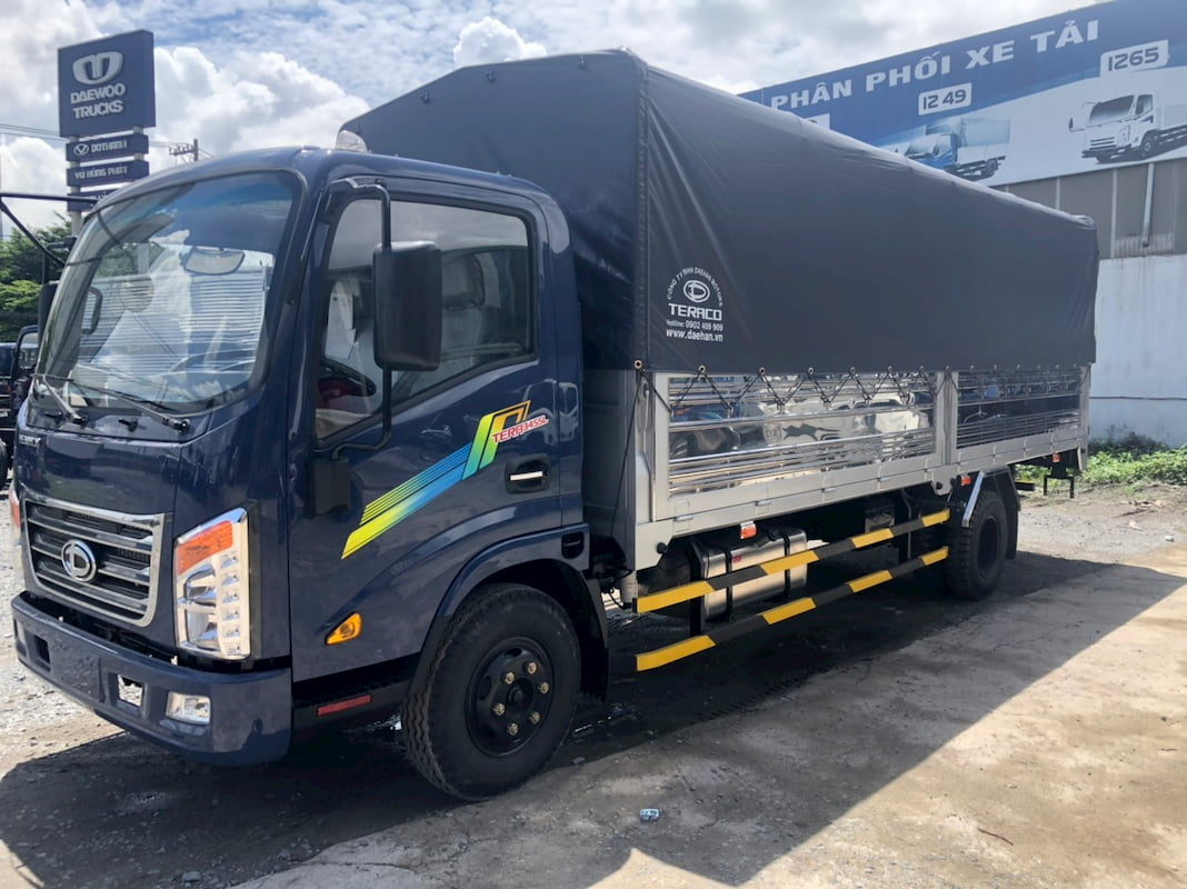 Ngoại thất xe tải 3.5 tấn Tera 345SL