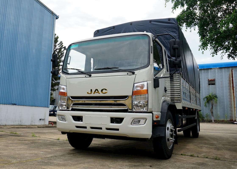 Xe tải JAC N900 9 tấn thùng dài 7.6 mét