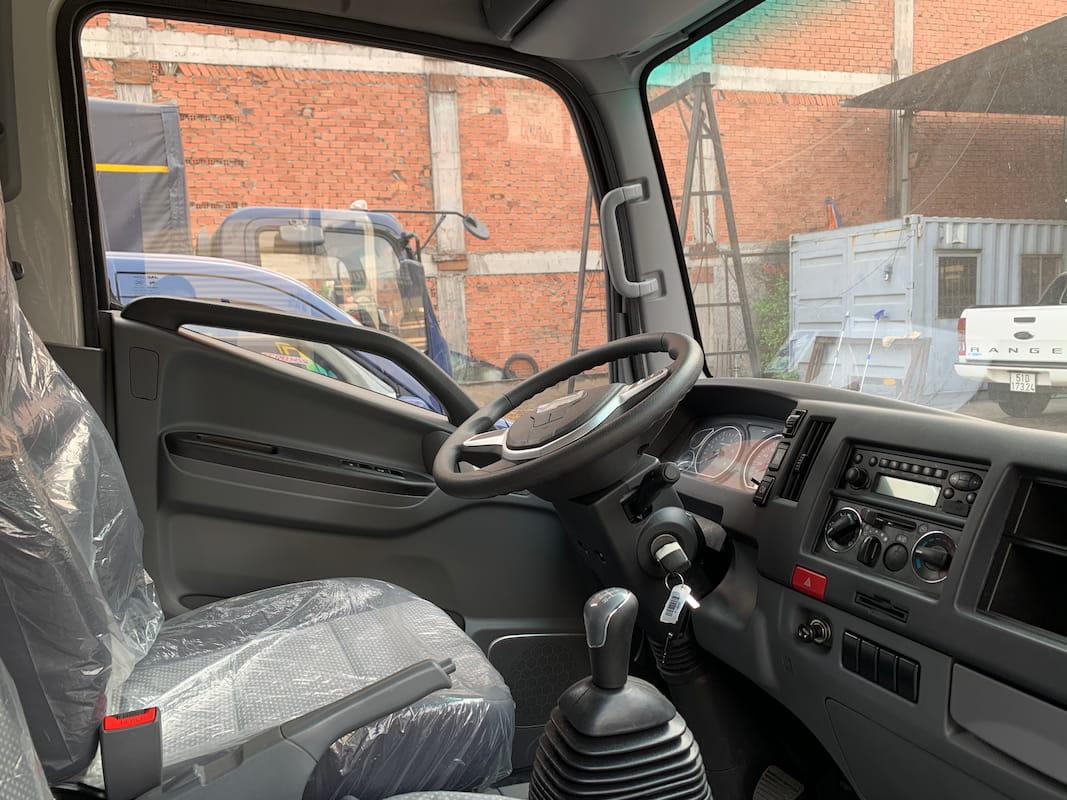 Khu vực làm việc của tài xế