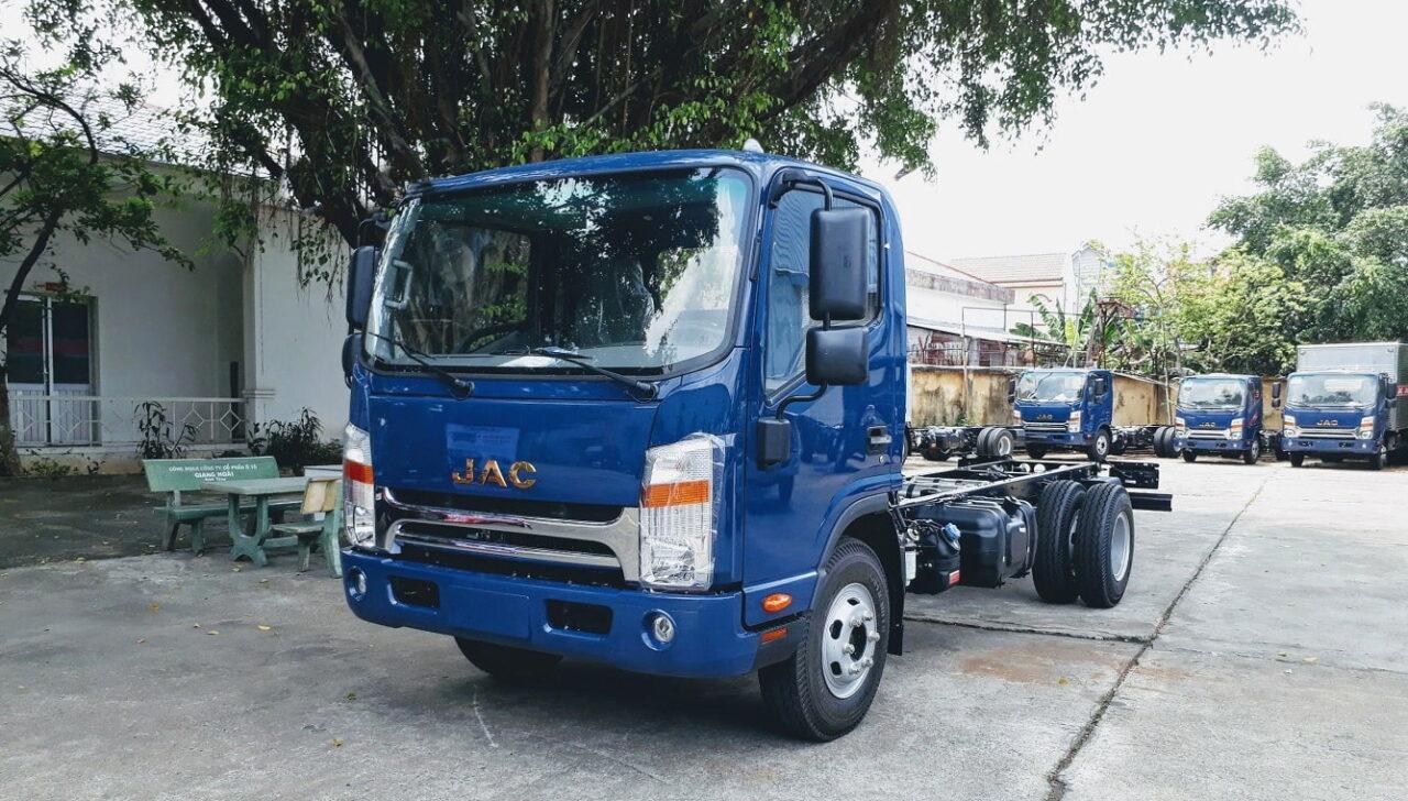 Xe JAC N500 5 tấn thùng dài 5,3 mét