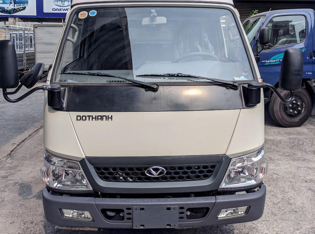 Thiết kế phần trước ca-bin xe tải Đô Thành IZ250