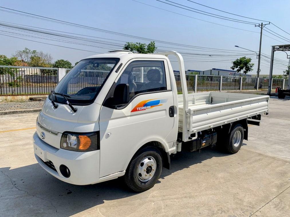 Giá xe tải Tera 180 thùng lững màu trắng