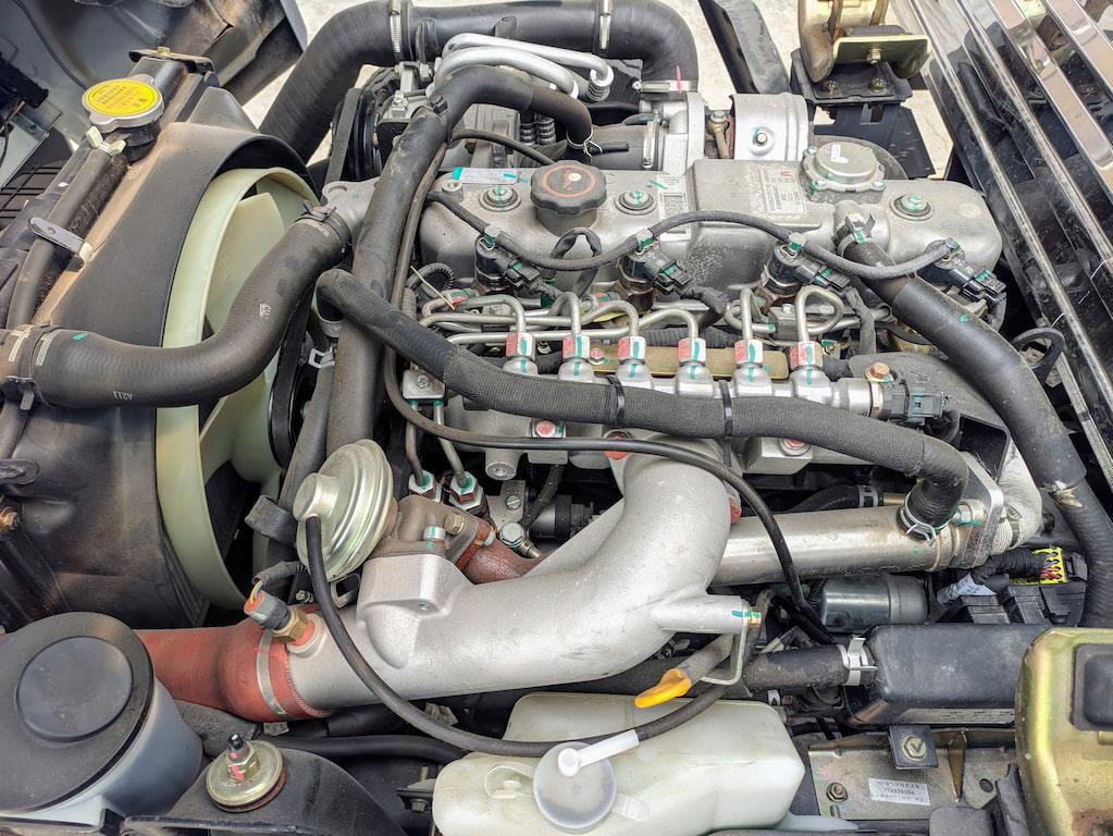 Động cơ xe tải Đô Thành IZ250