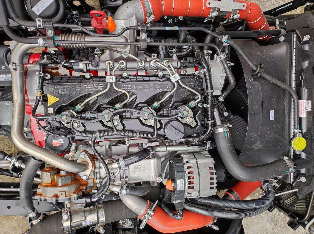 Động cơ Cummins trên JAC N200S