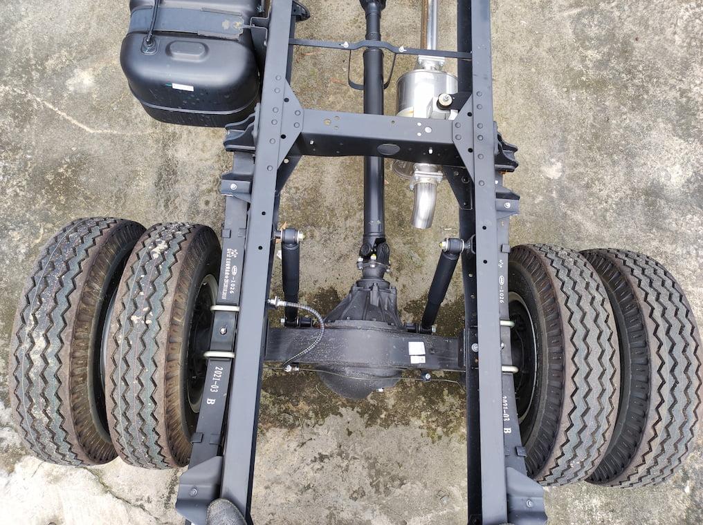 Khung xe JAC N200S